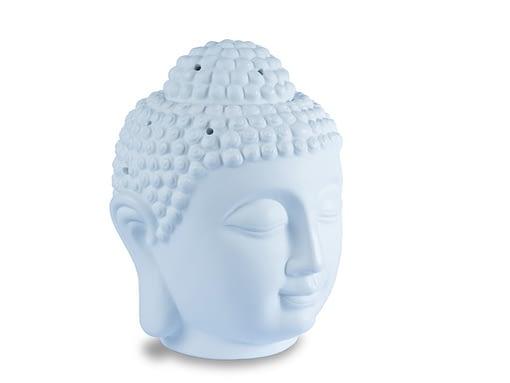White Budhha wax burner